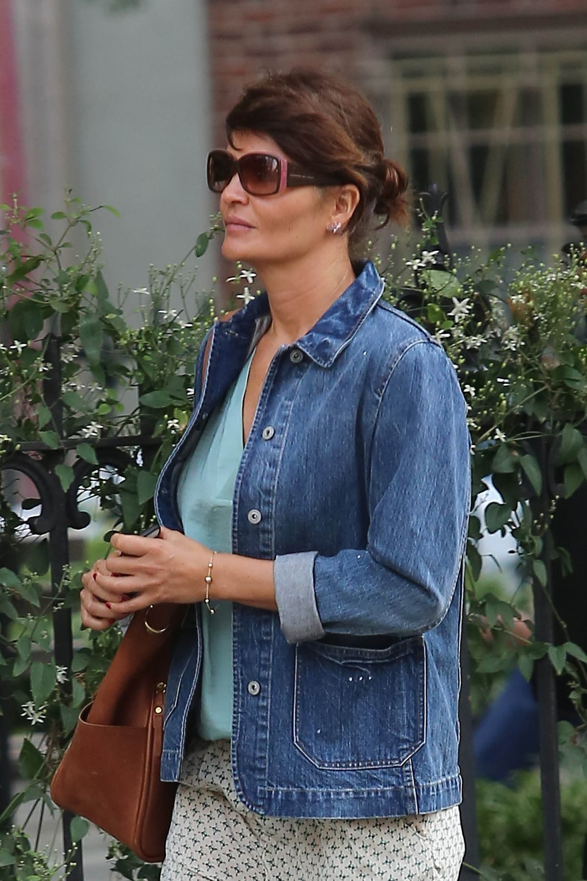 Helena Christensen Out in New York-2