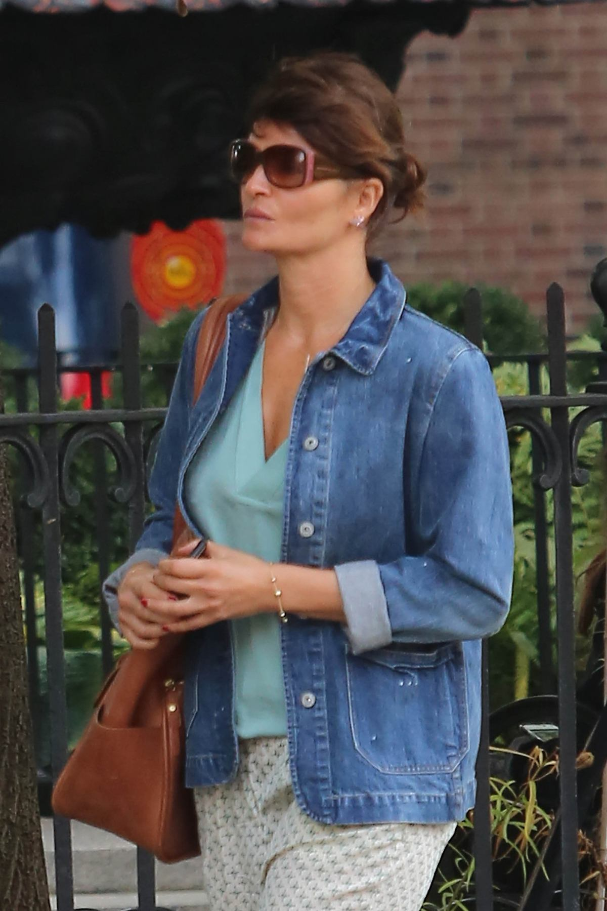 Helena Christensen Out in New York-3