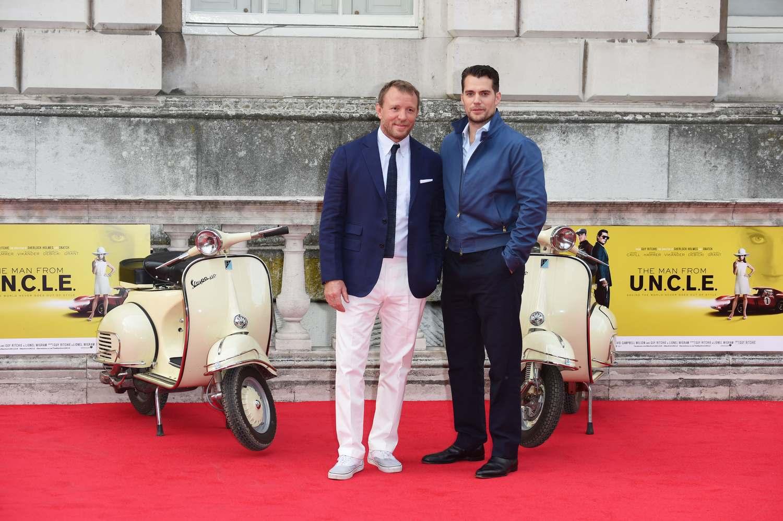 Henry Cavill at Man From U.N.C.L.E UK Film Premiere-4