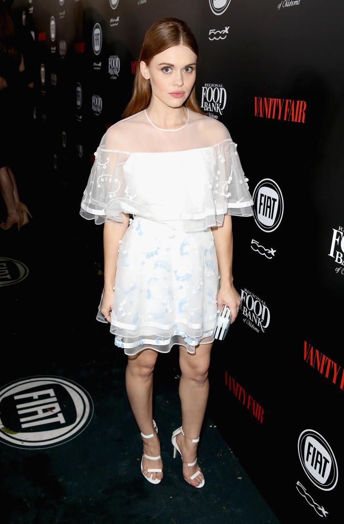 Holland Roden arrives at Vanity Fair and Fiat Young Hollywood Celebrationrd