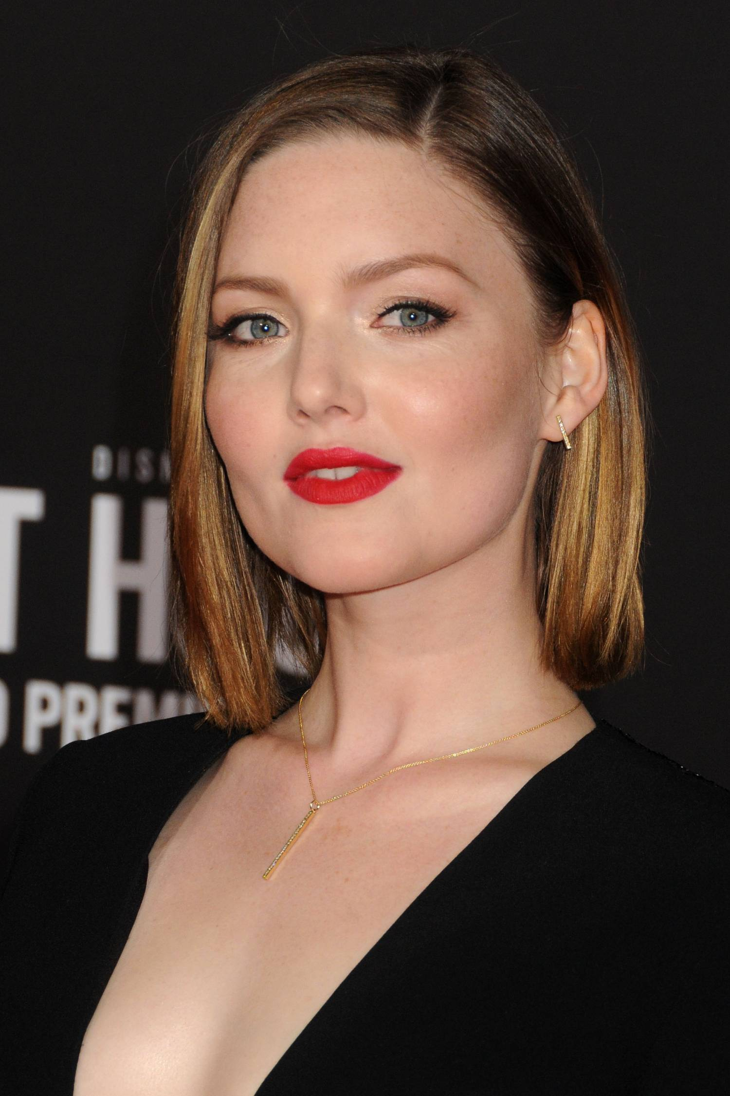 Holliday Grainger Poses with Eric Bana and Chris Pine at The Finest Hours Premiere-3