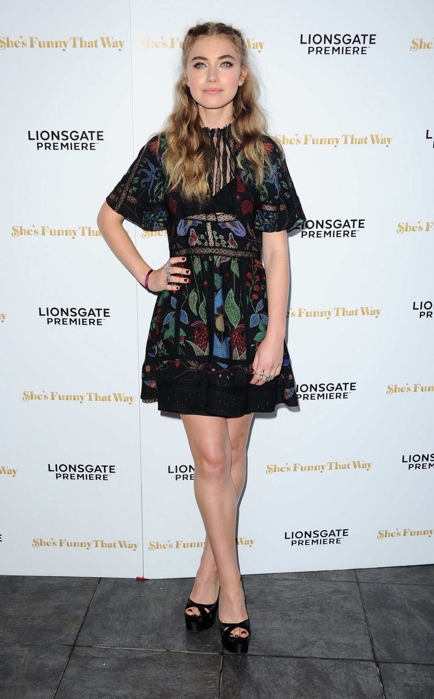 Imogen Poots at Shes Funny That Way LA Premiere-1