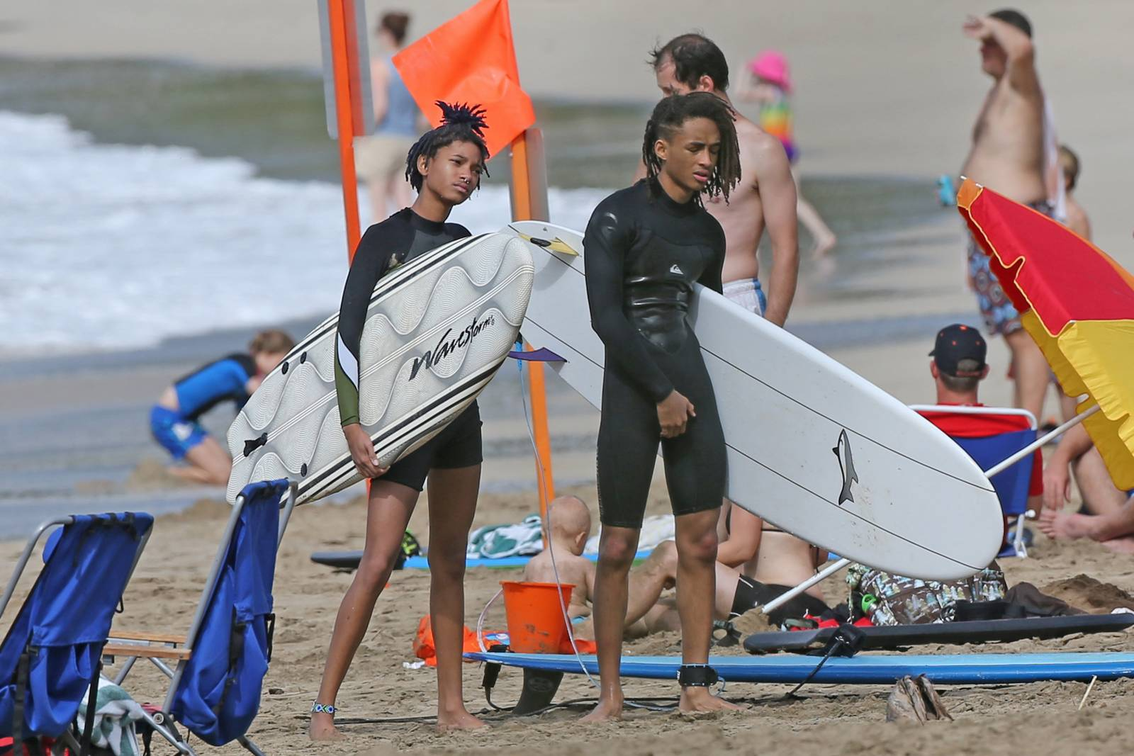 Jaden Smith Shows Off Six Pack Abs During Smiths Beach Holiday-3