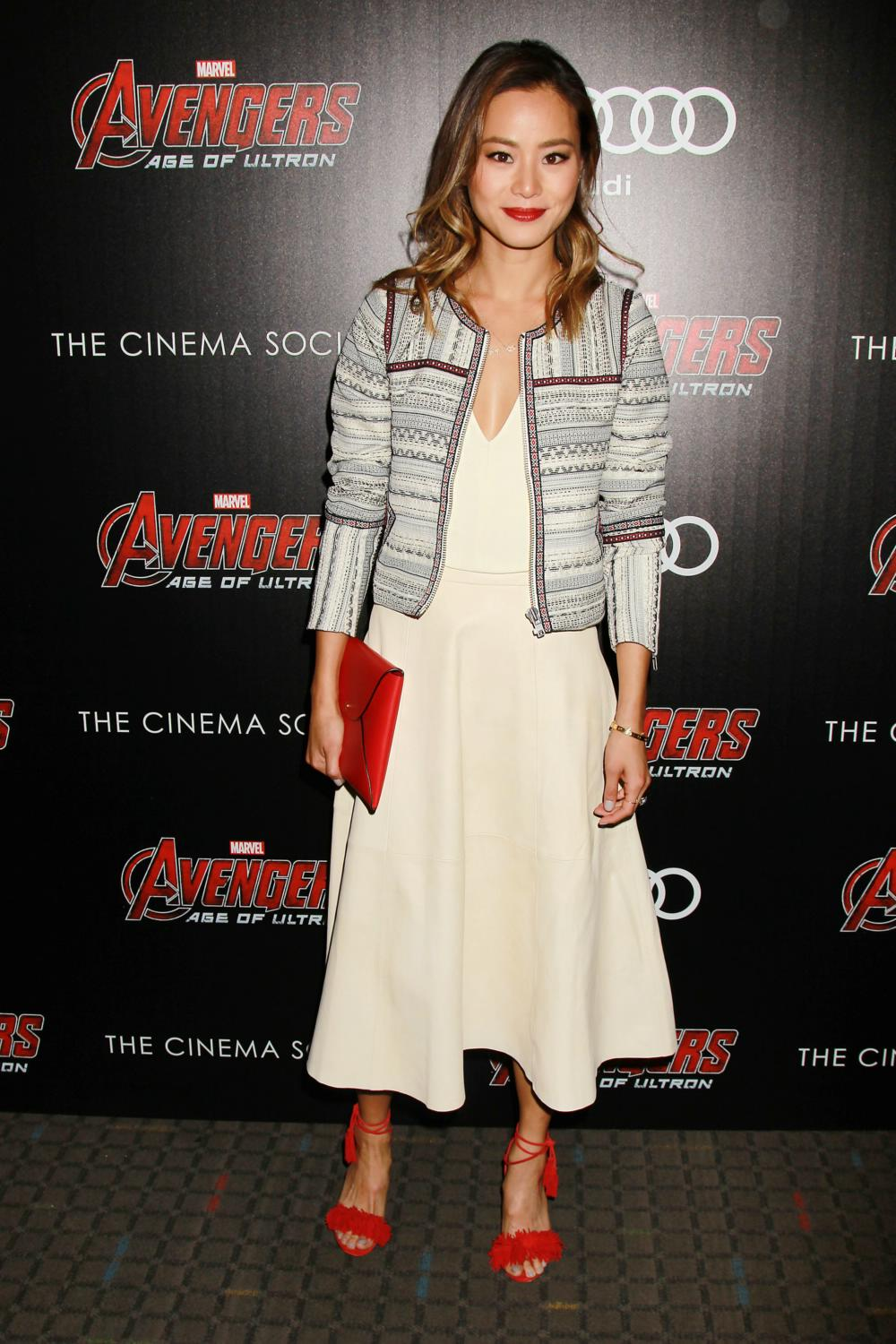 Jamie Chung at Avengers Age of Ultron NY Screening-1