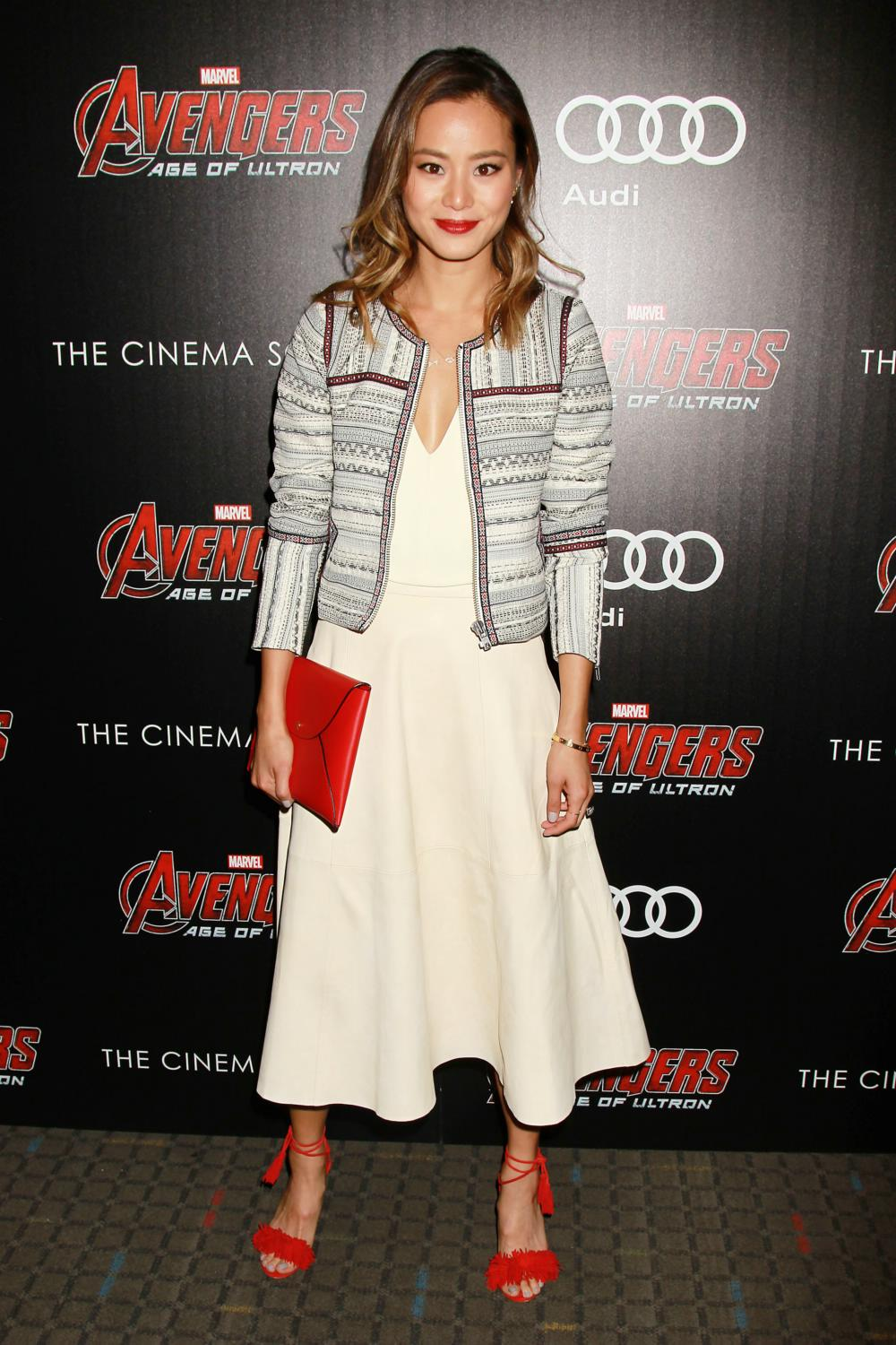 Jamie Chung at Avengers Age of Ultron NY Screening-2