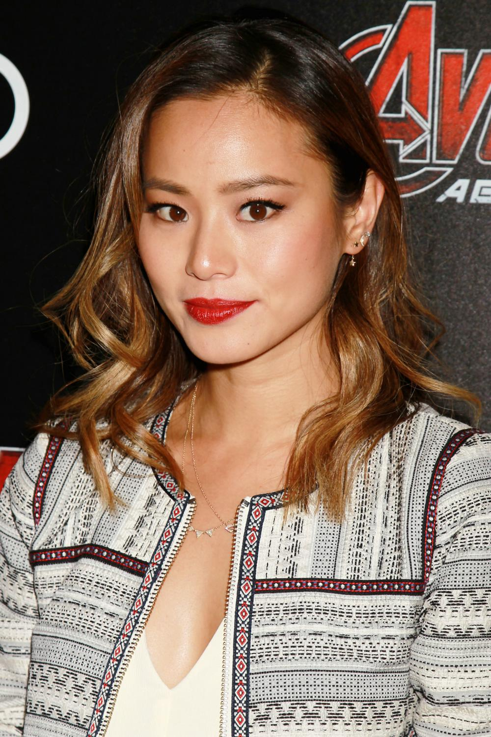 Jamie Chung at Avengers Age of Ultron NY Screening-3