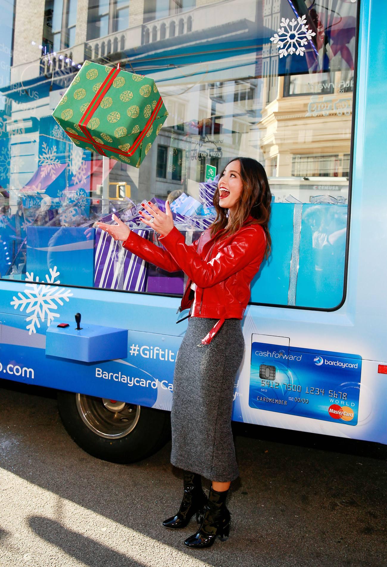 Jamie Chung at Barclaycard Gift Grab-2