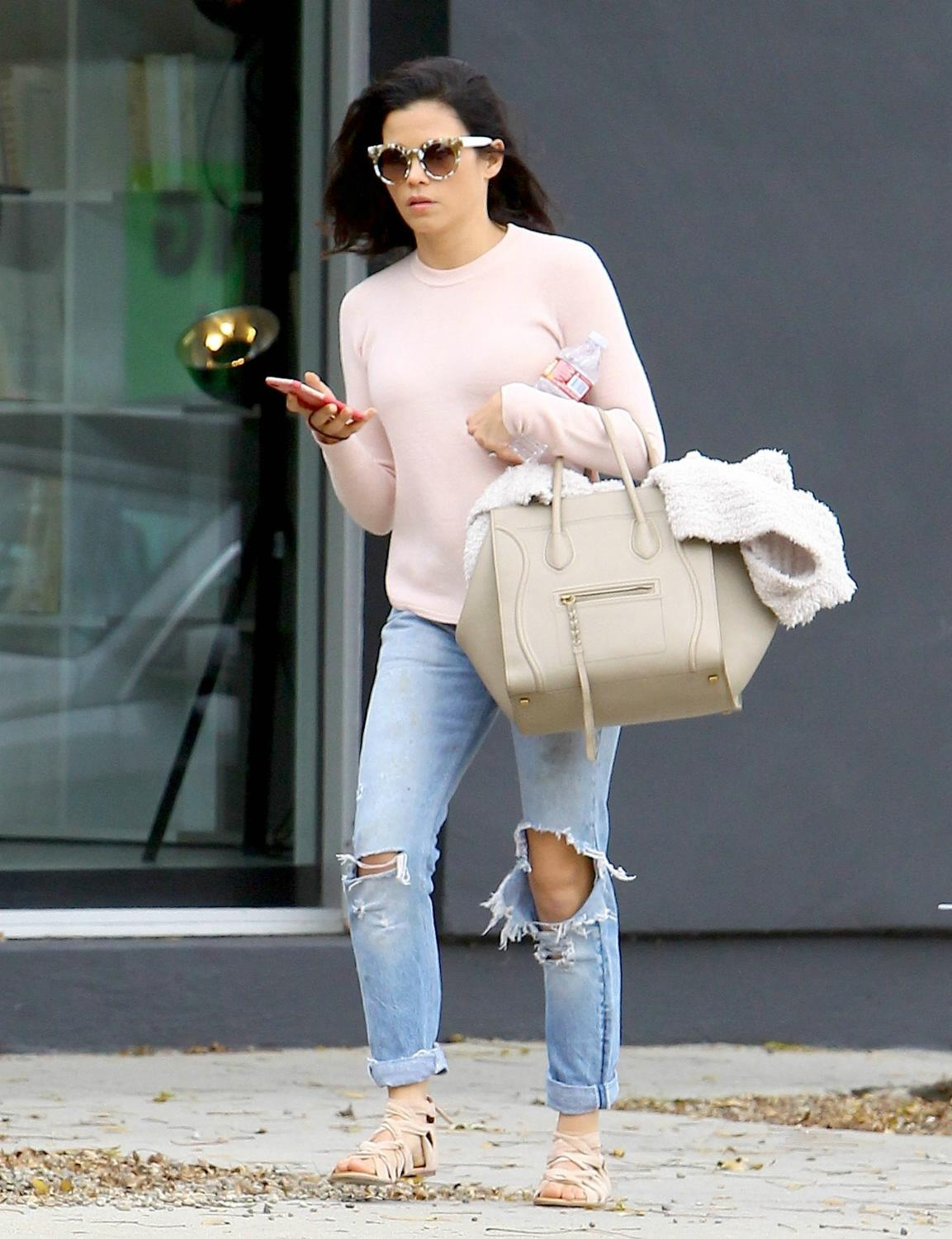 Jenna Dewan Enjoys Retail Therapy in West Hollywood-1