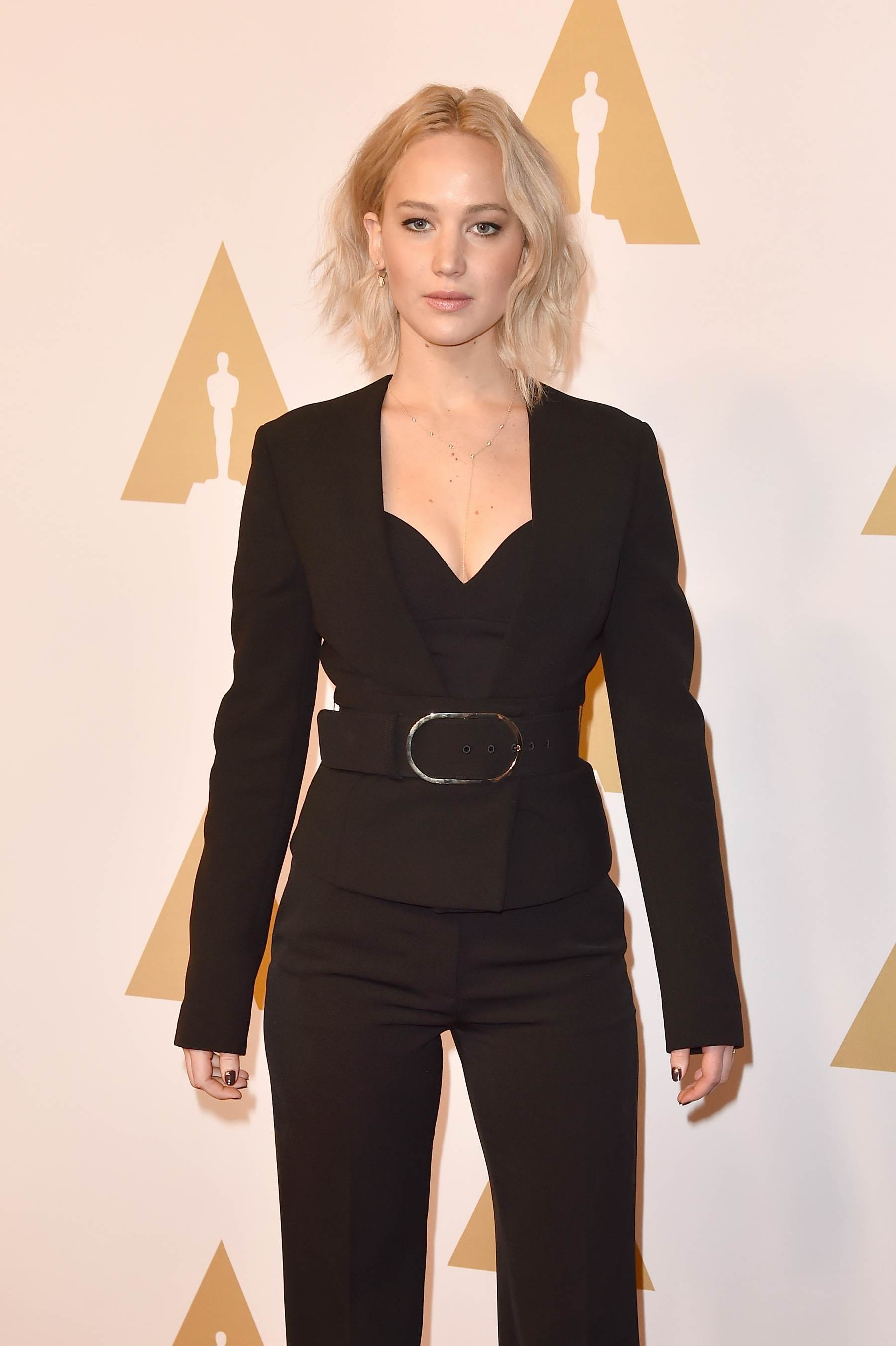 Jennifer Lawrence arrives at Annual Academy Awards Nominee Luncheon-1