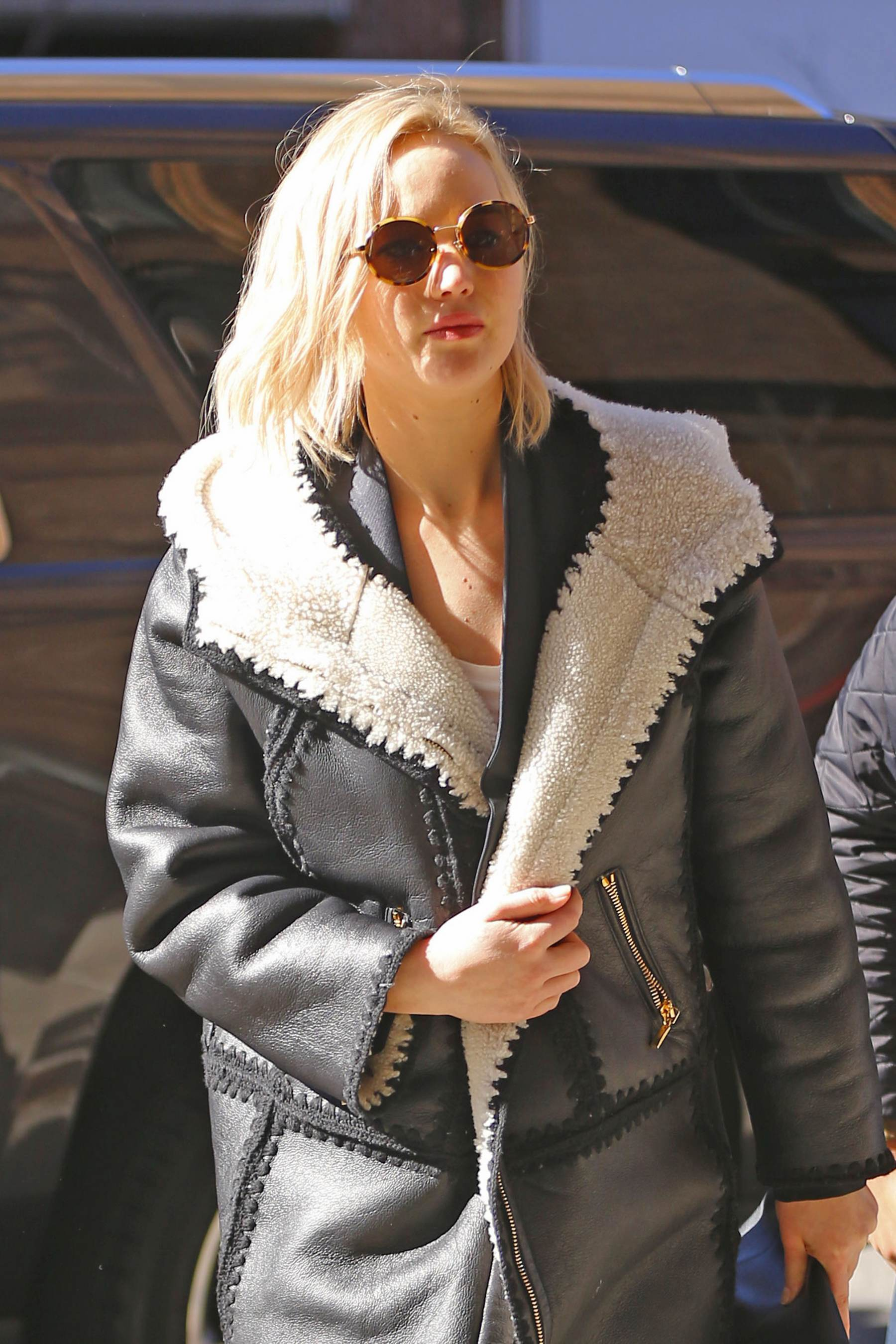 Jennifer Lawrence Arrives at The Greenwich Hotel-1