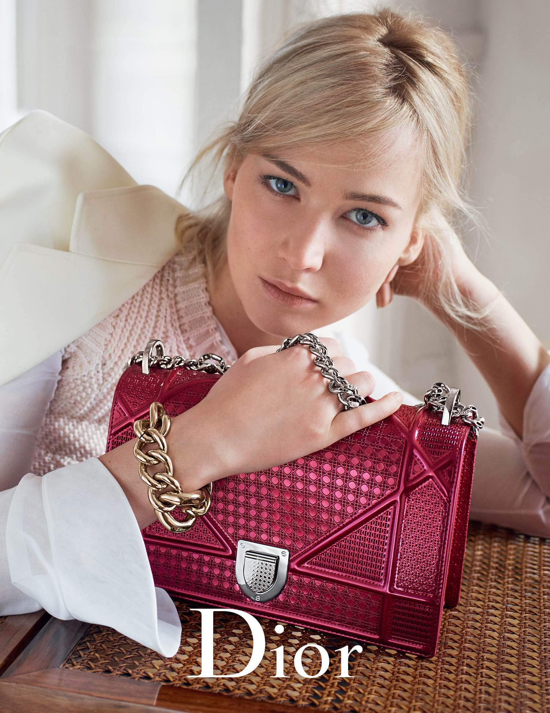 Jennifer Lawrence for Dior Handbags S/S-1