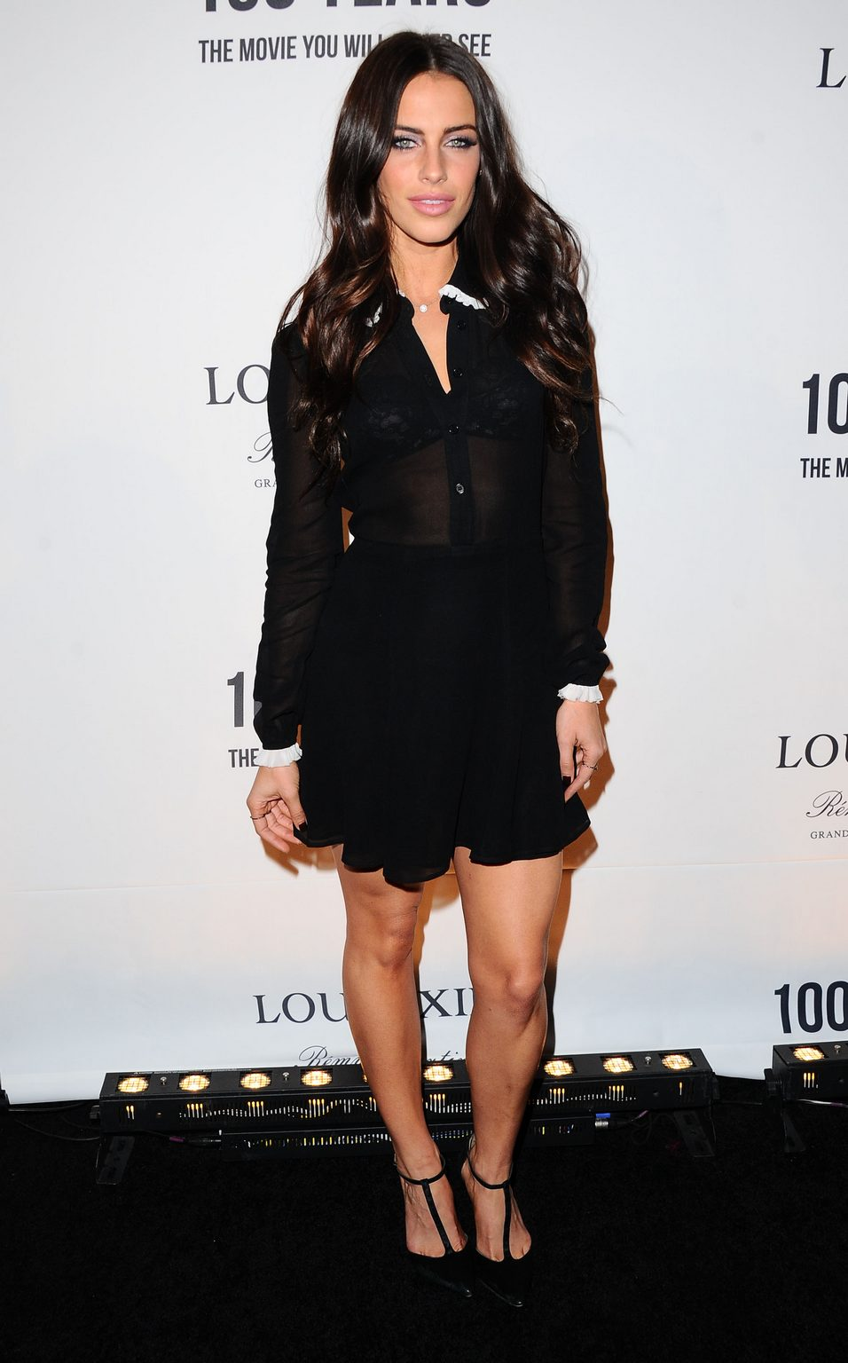 Jessica Lowndes arrives at LOUIS XIII Toasts To Years: The Movie You Will Never See-1