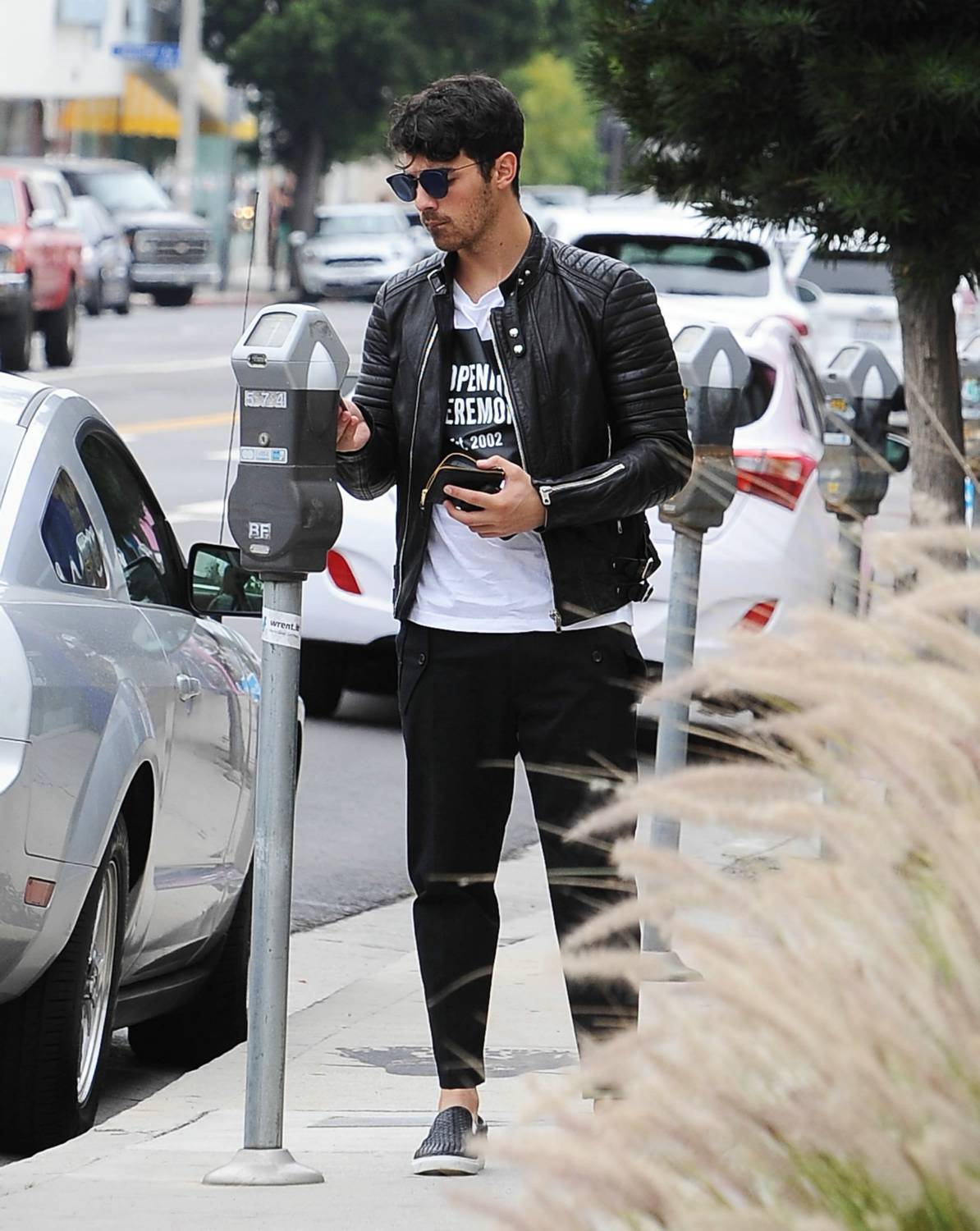 Joe Jonas is spotted out and about in West Hollywood-1