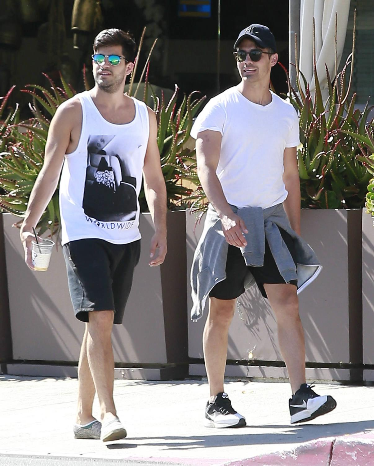 Joe Jonas Out in West Hollywood with a Friend-4