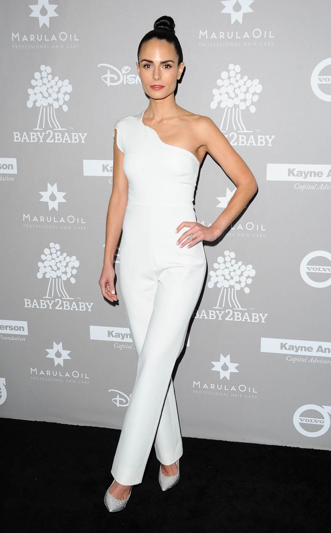 Jordana Brewster arrives at BabyBaby Gala-1