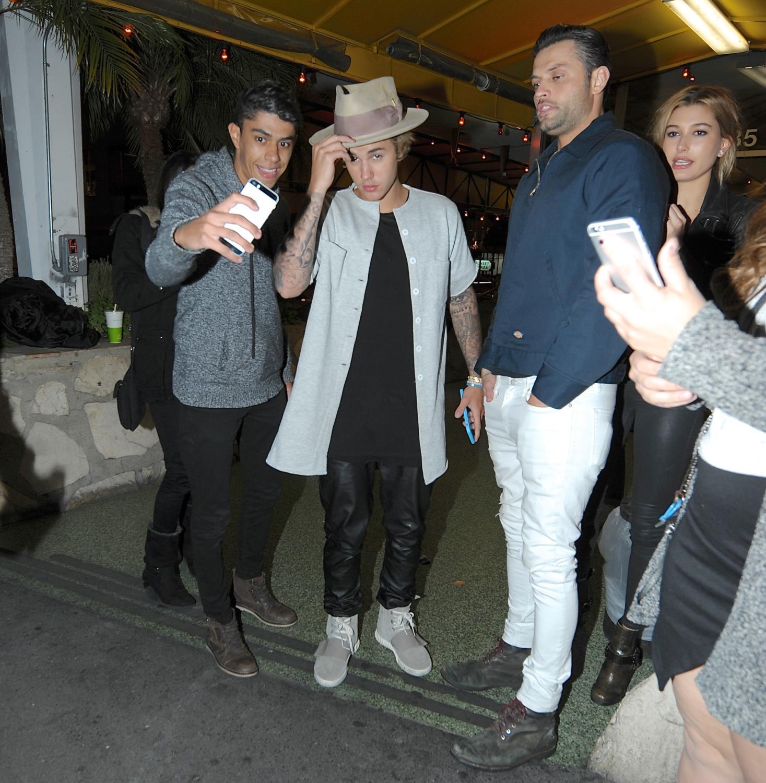 Justin Bieber exitse Mels Diner-1