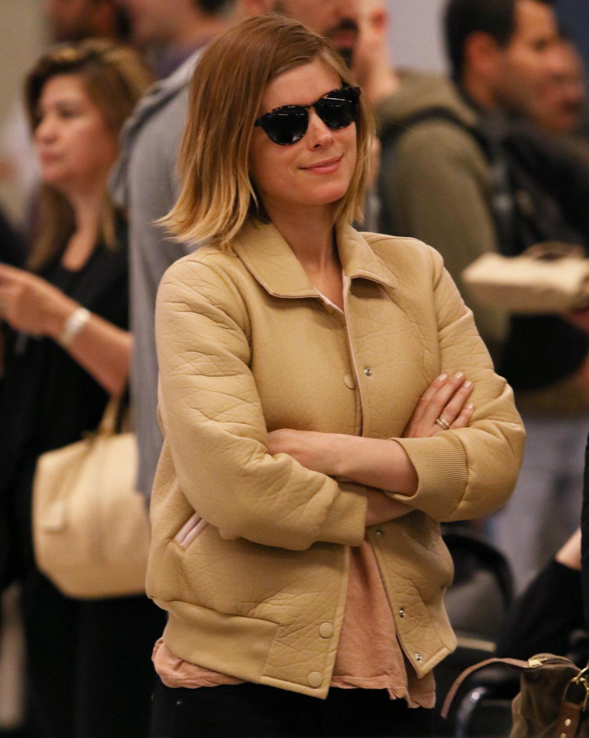 Kate Mara Arrives at JFK Airport-1