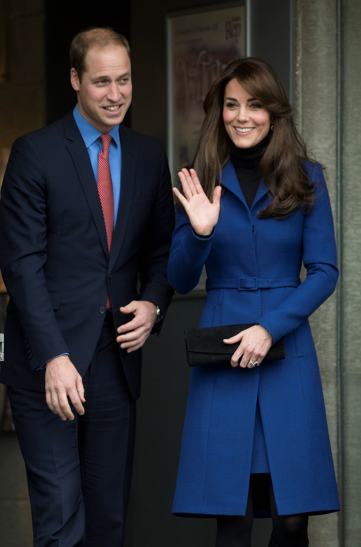 Kate Middleton and Prince William at RRS Discovery-1