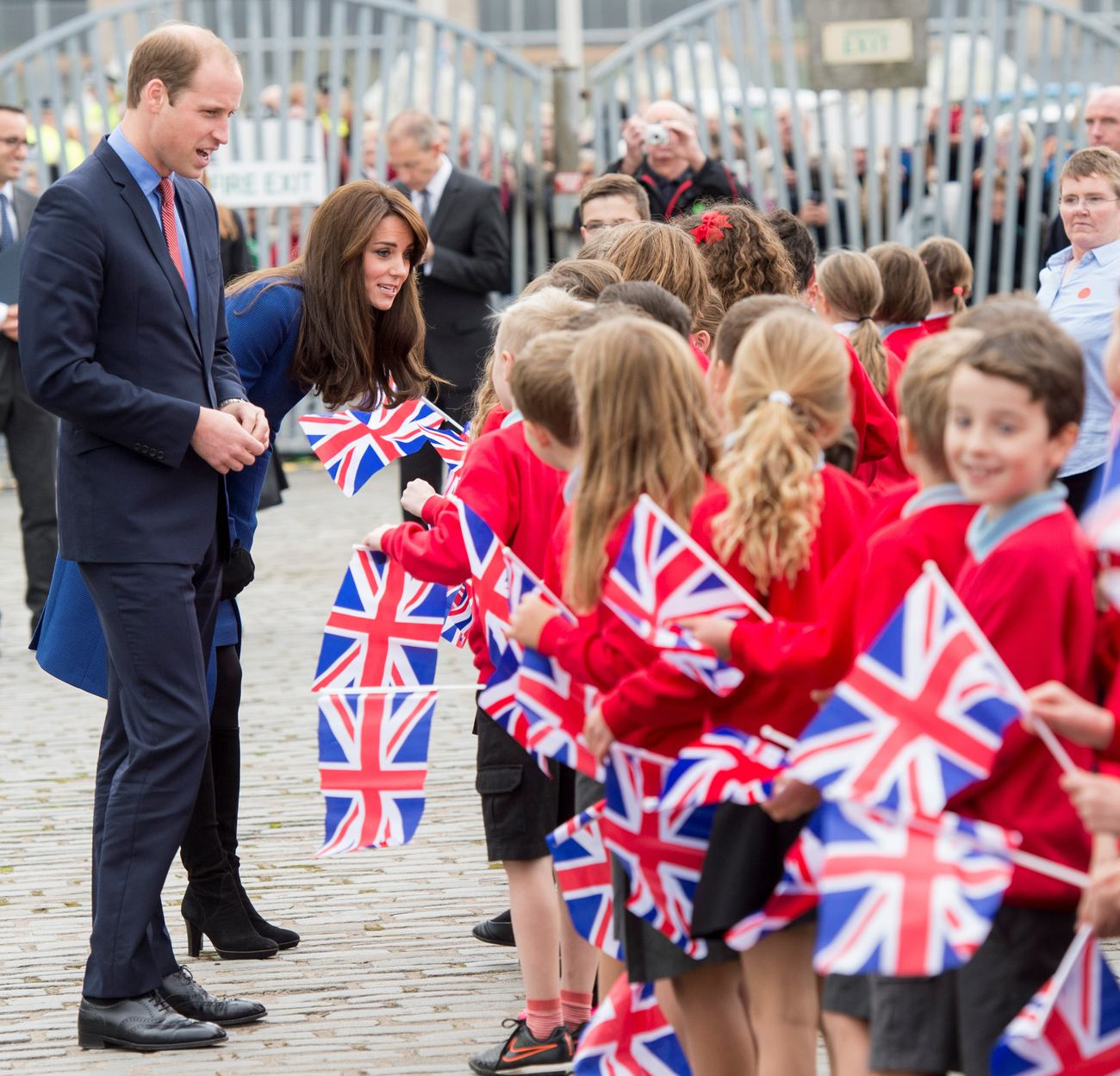 Kate Middleton and Prince William at RRS Discovery-4