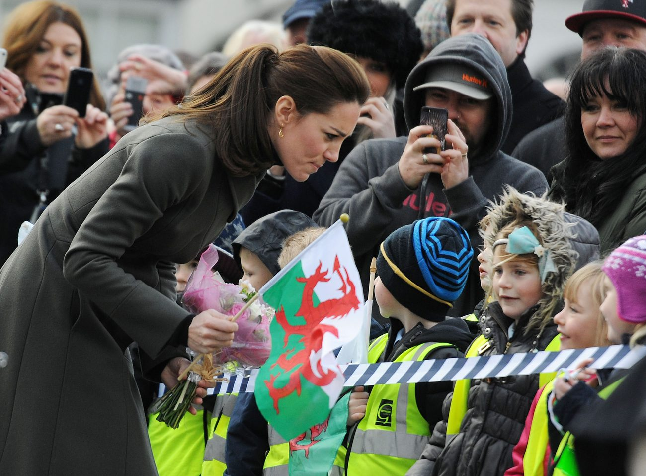 Kate Middleton Promotes Mental Well Being of Young People in North Wales-2