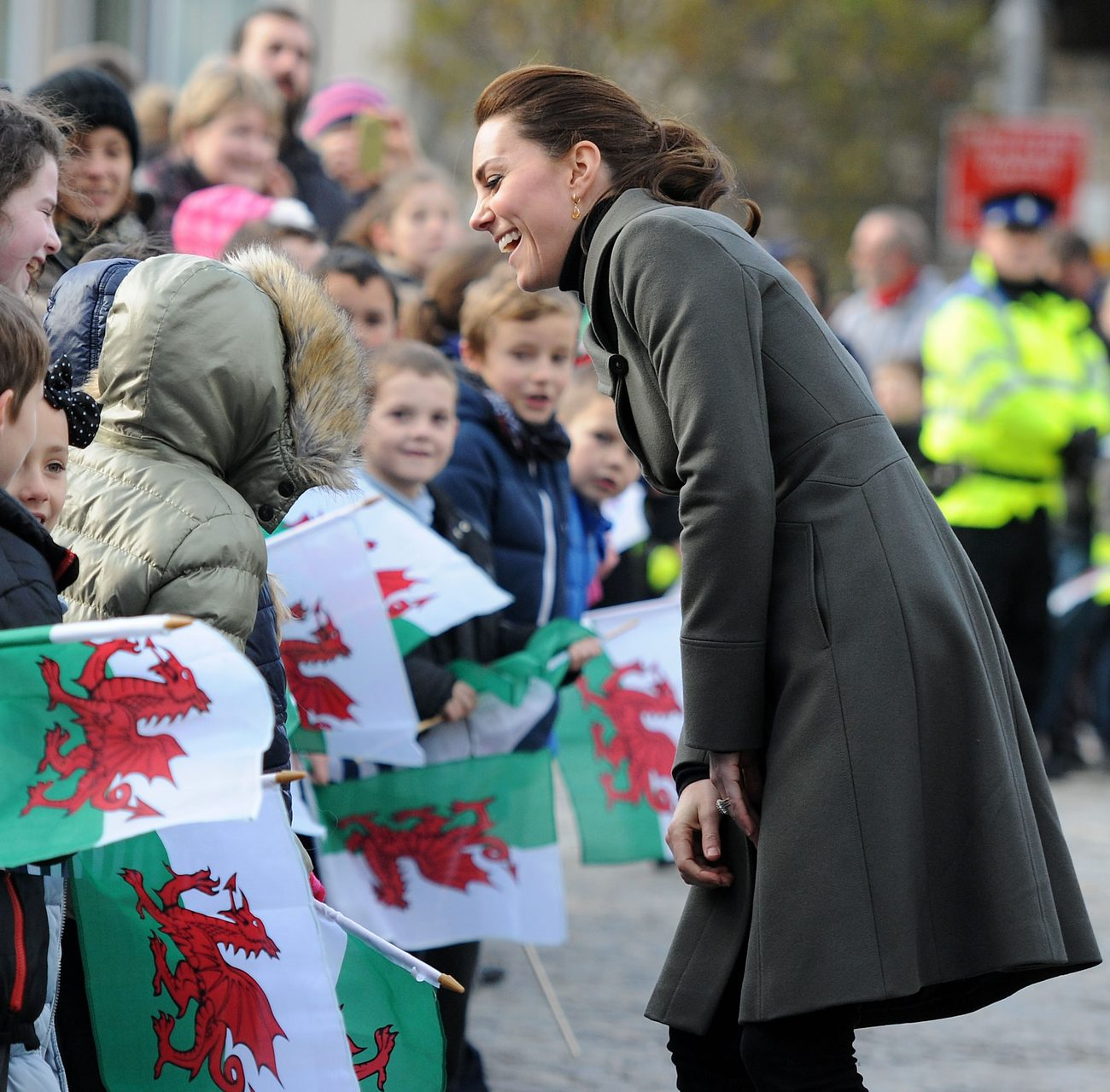 Kate Middleton Promotes Mental Well Being of Young People in North Wales-3