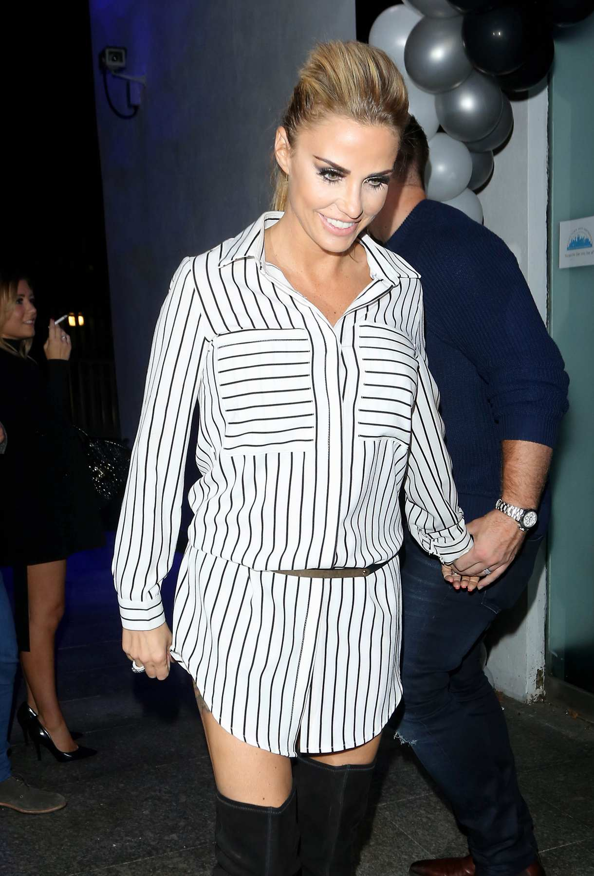 Katie Price and Kieran Hayler Party at Pure Nightclub-1