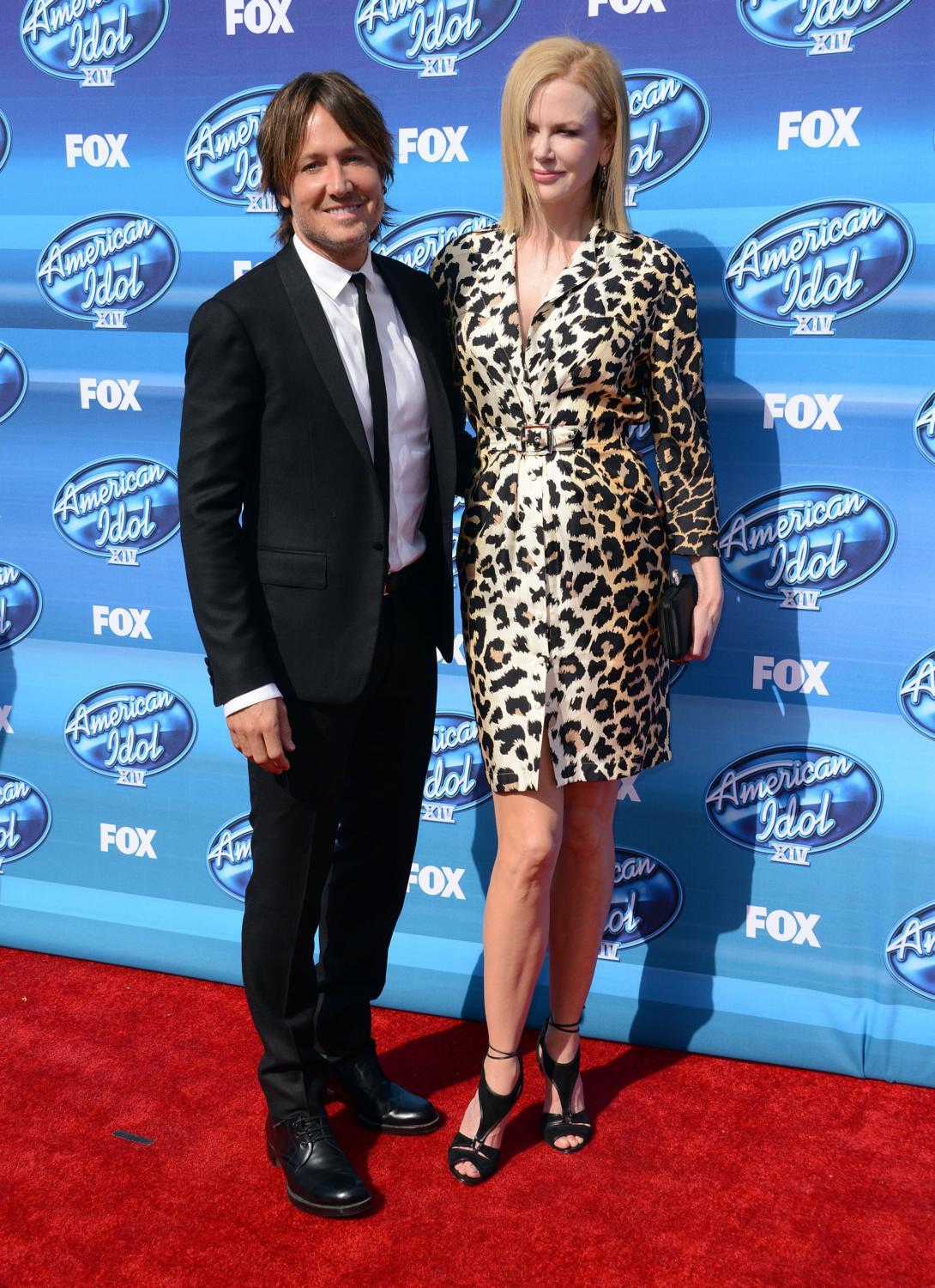 Keith Urban and Nicole Kidman at American Idol XIV Grand Finale-2