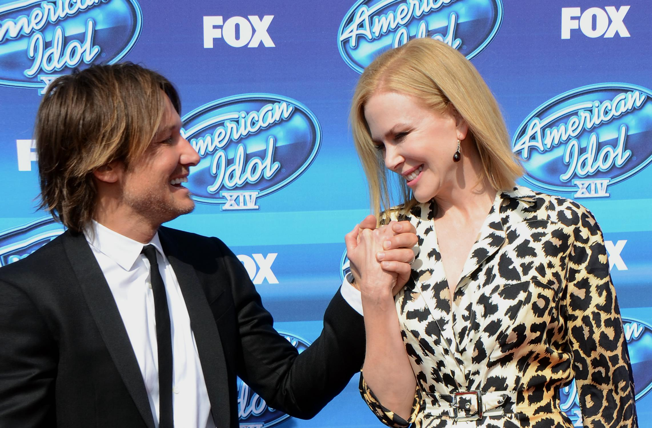 Keith Urban and Nicole Kidman at American Idol XIV Grand Finale-3