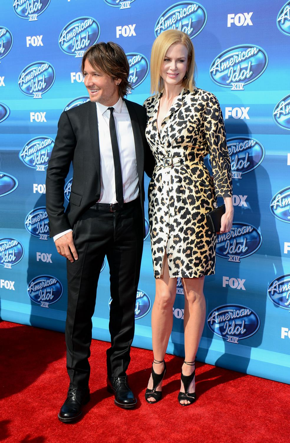 Keith Urban and Nicole Kidman at American Idol XIV Grand Finale-4