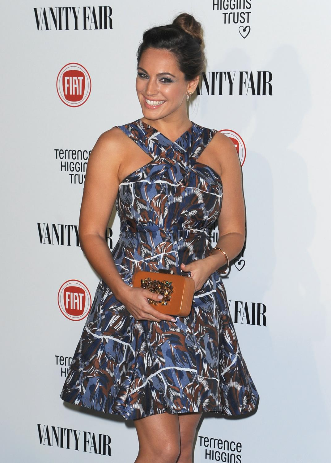 Kelly Brook ate Vanity Fair and Fiat Young Hollywood event-1