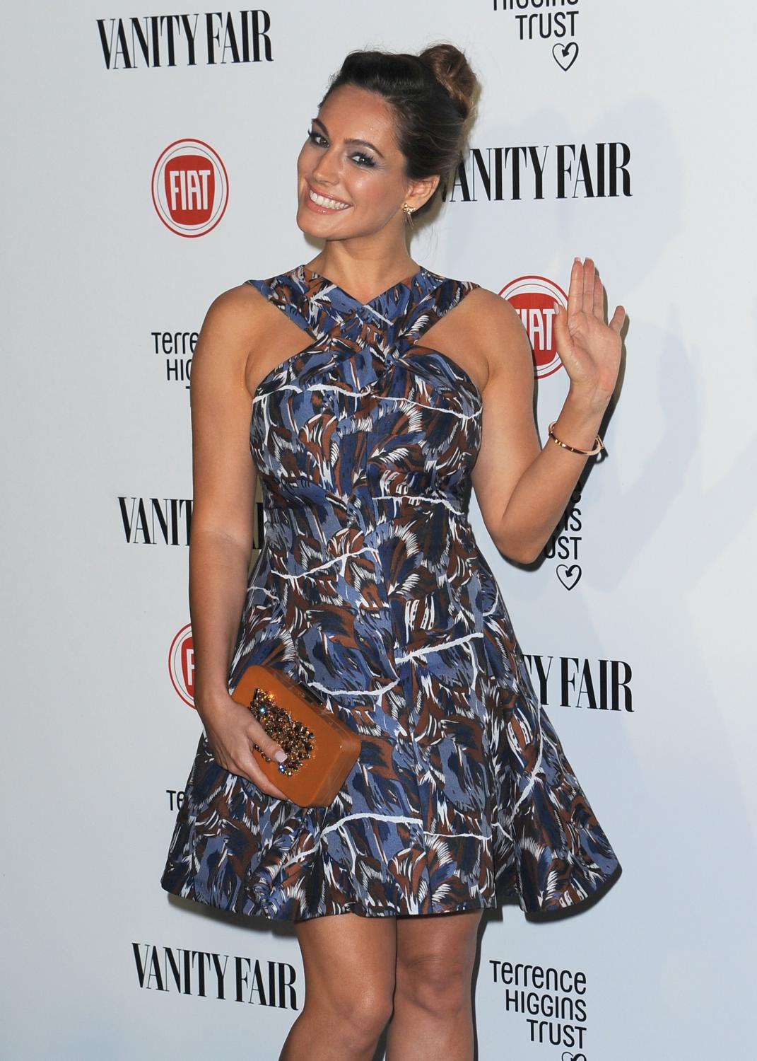 Kelly Brook ate Vanity Fair and Fiat Young Hollywood event-3