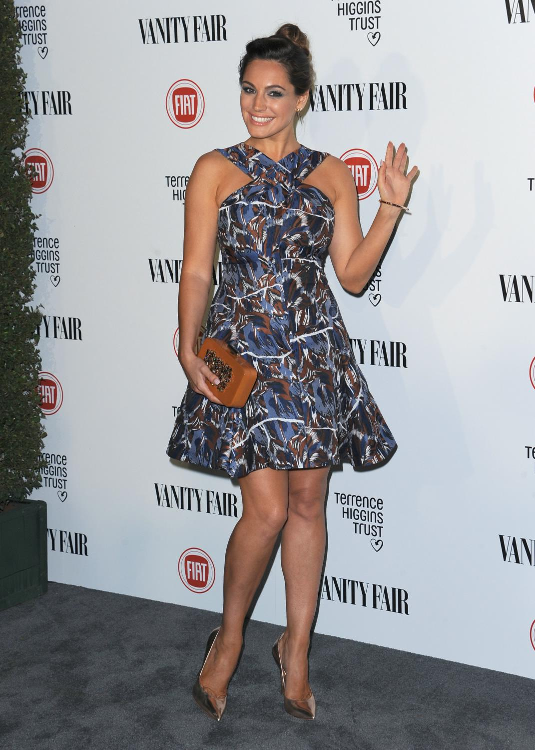Kelly Brook ate Vanity Fair and Fiat Young Hollywood event-4