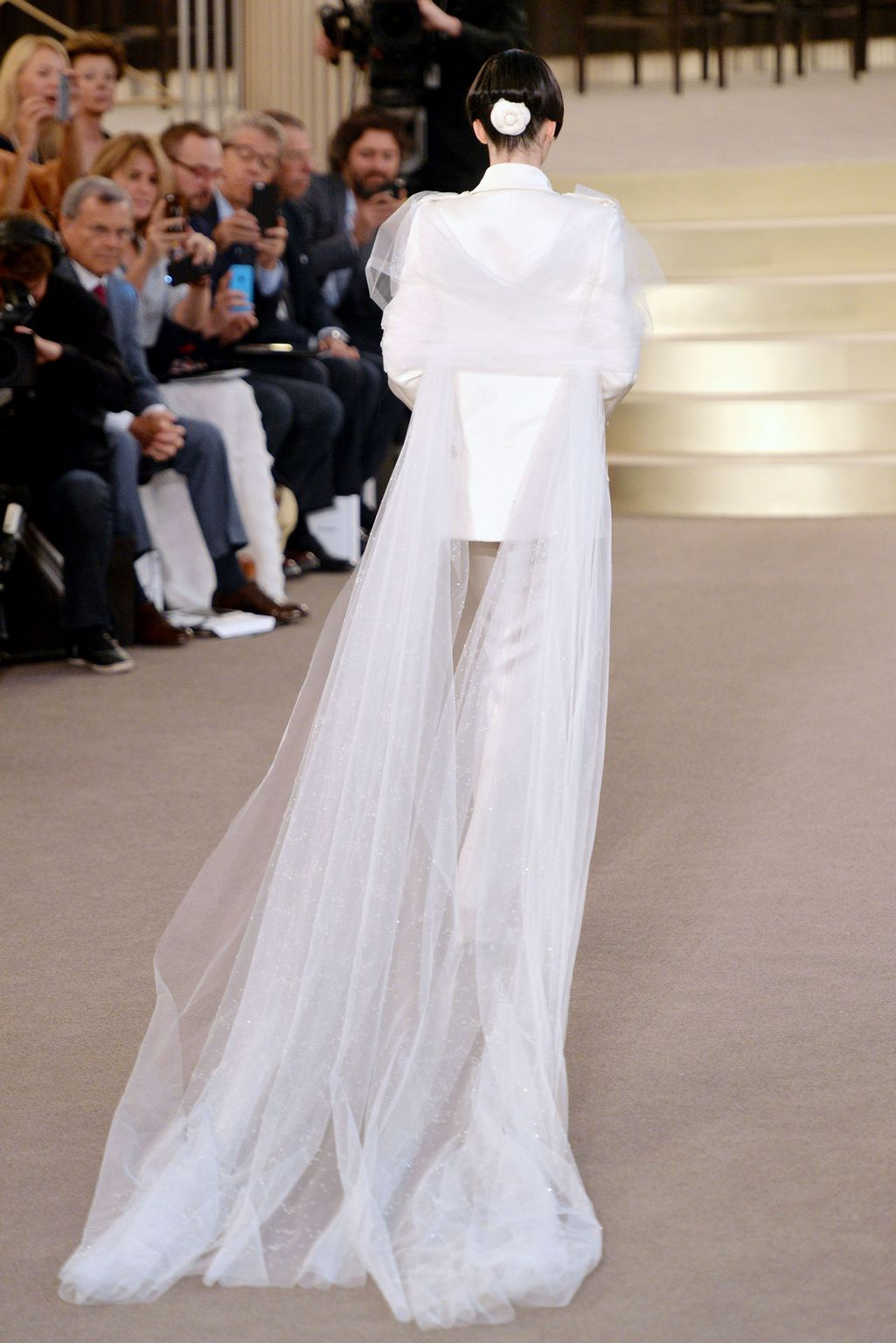 Kendall Jenner at Chanel Paris Fashion Week Haute Couture Fall/Winter / Show-3