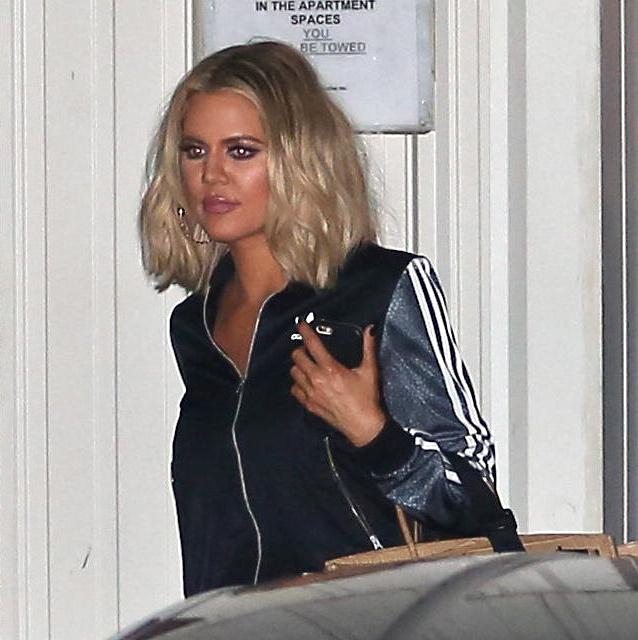 Khloe Kardashian spotted Leaving The Studio-1