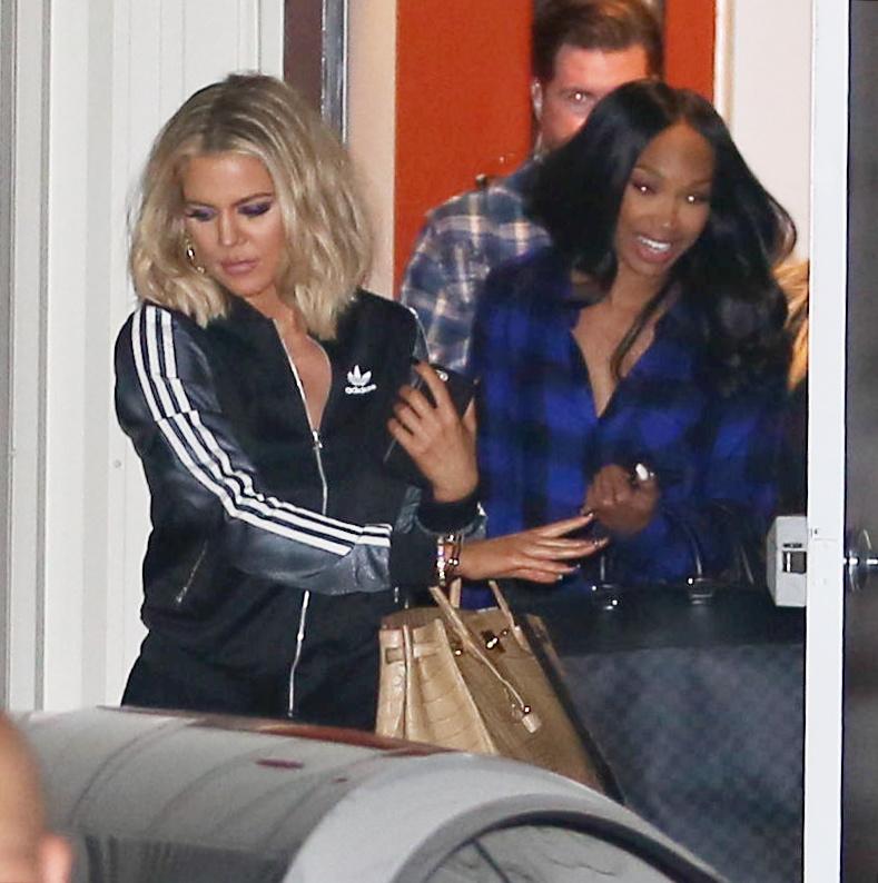 Khloe Kardashian spotted Leaving The Studio-2