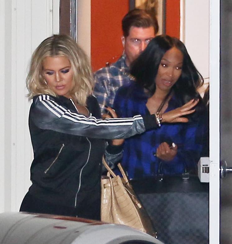 Khloe Kardashian spotted Leaving The Studio-3