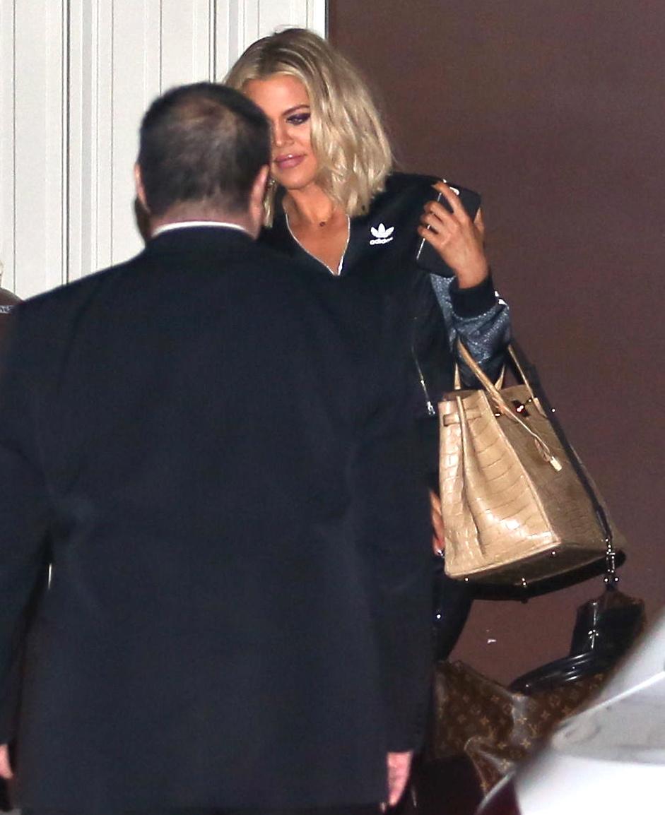 Khloe Kardashian spotted Leaving The Studio-4