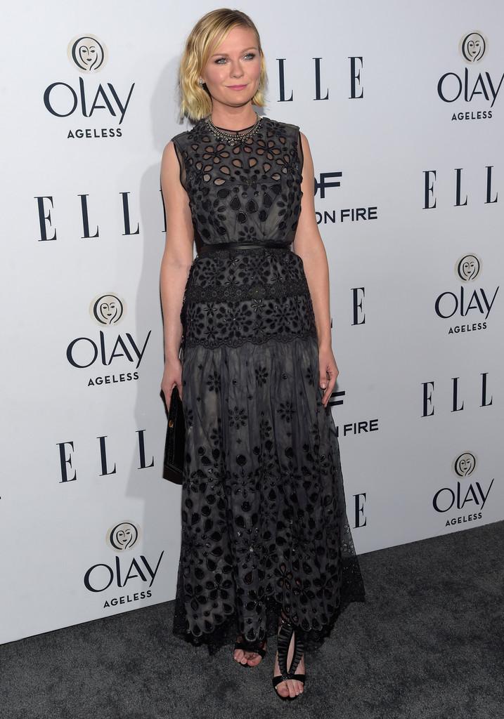 Kirsten Dunst arrives at ELLEs Annual Women in Television Dinner-1