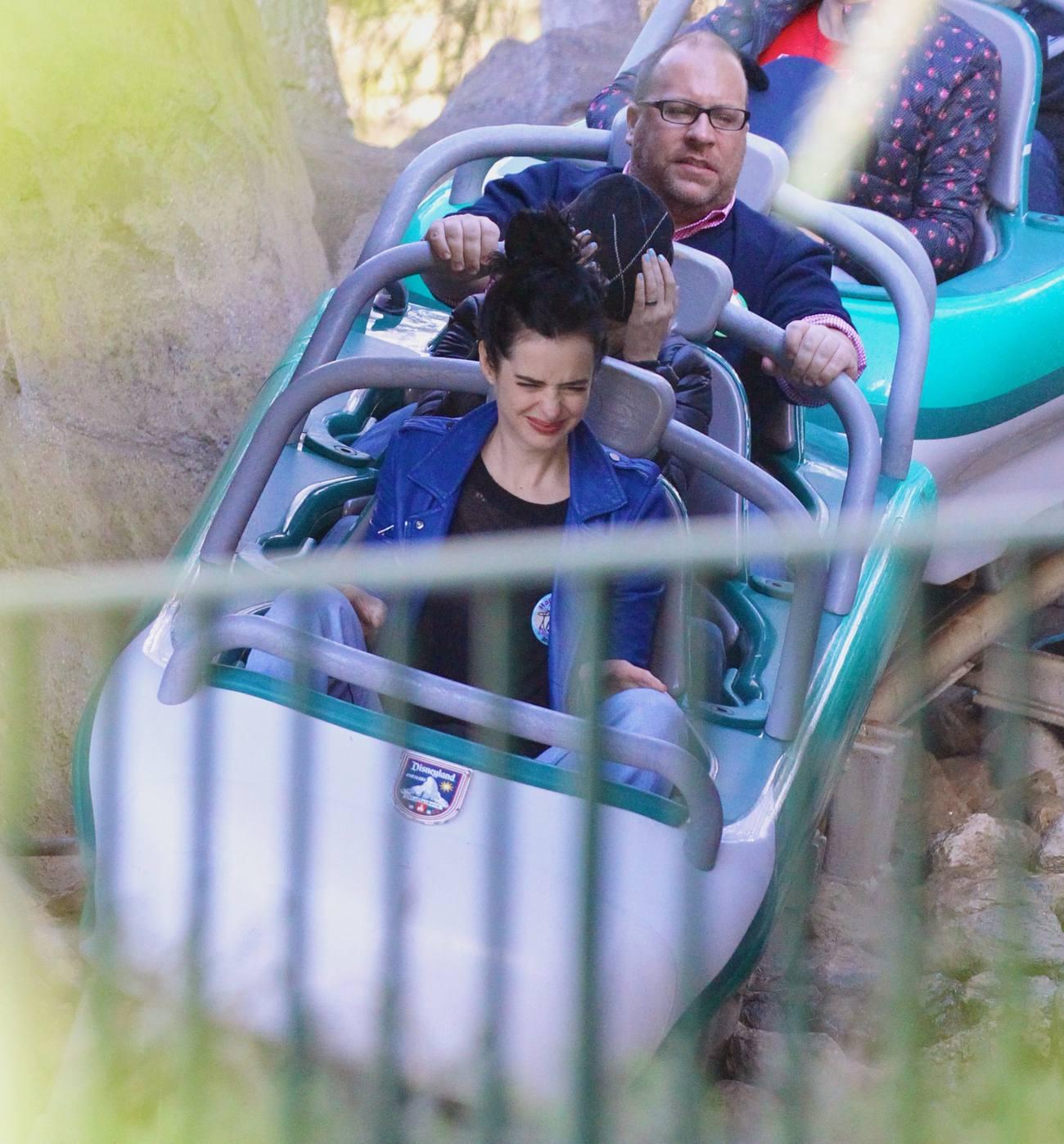 Krysten Ritter Celebrates Her Birthday at Disneyland-1