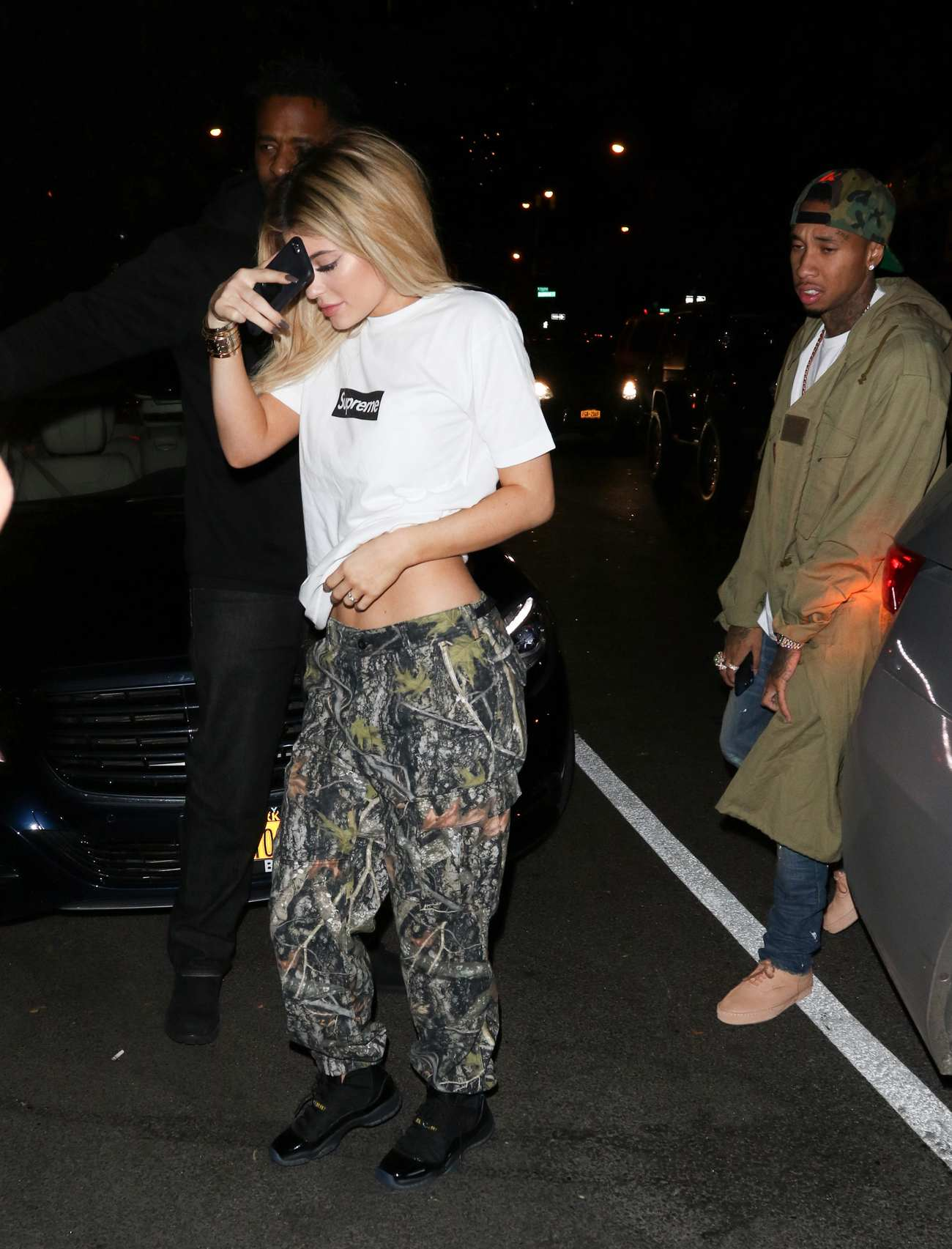Kylie Jenner and Tyga Arrive at LAX Airport-1