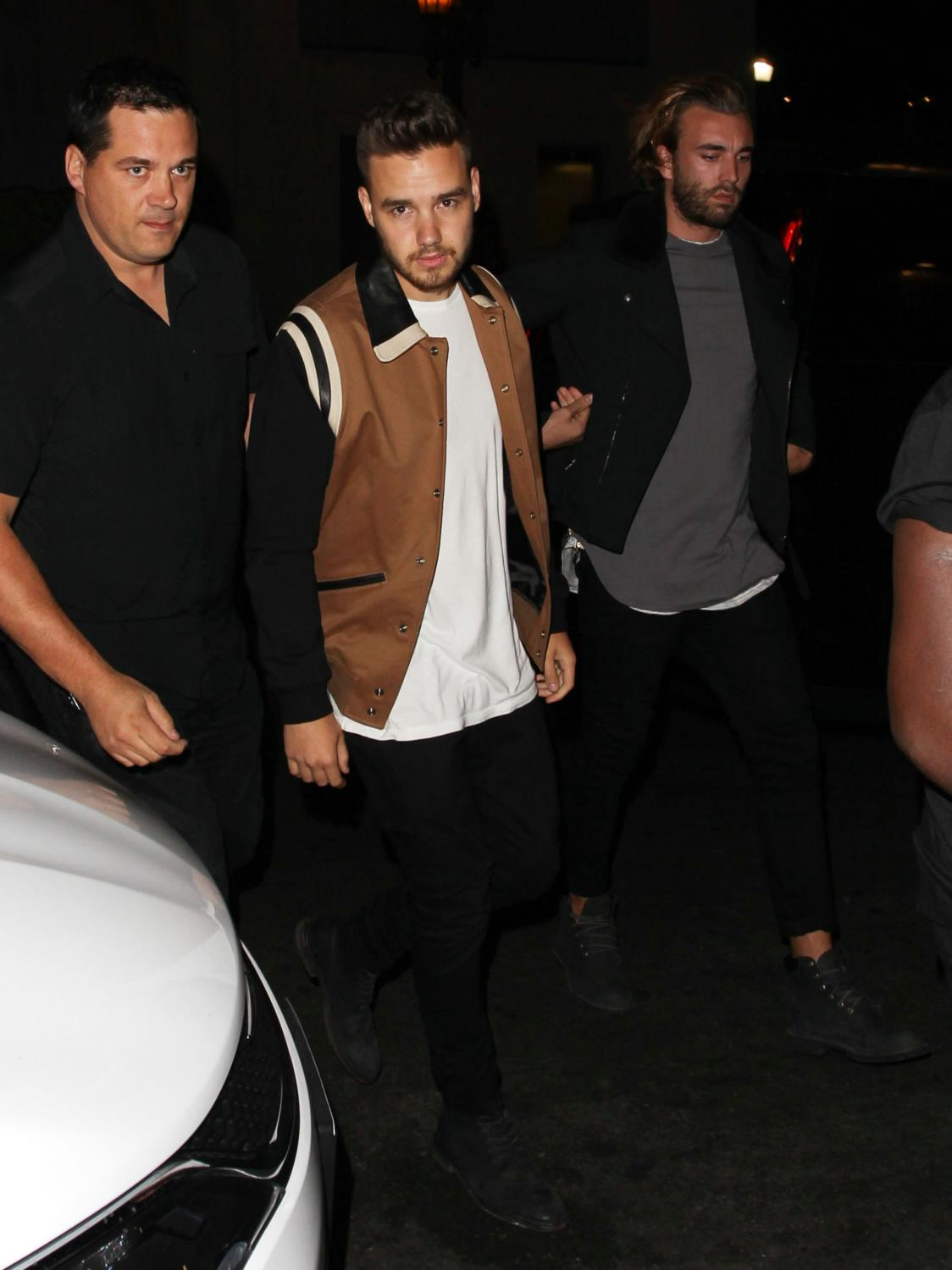 Liam Payne and Louis Tomlinson Leaving Project L.A-1