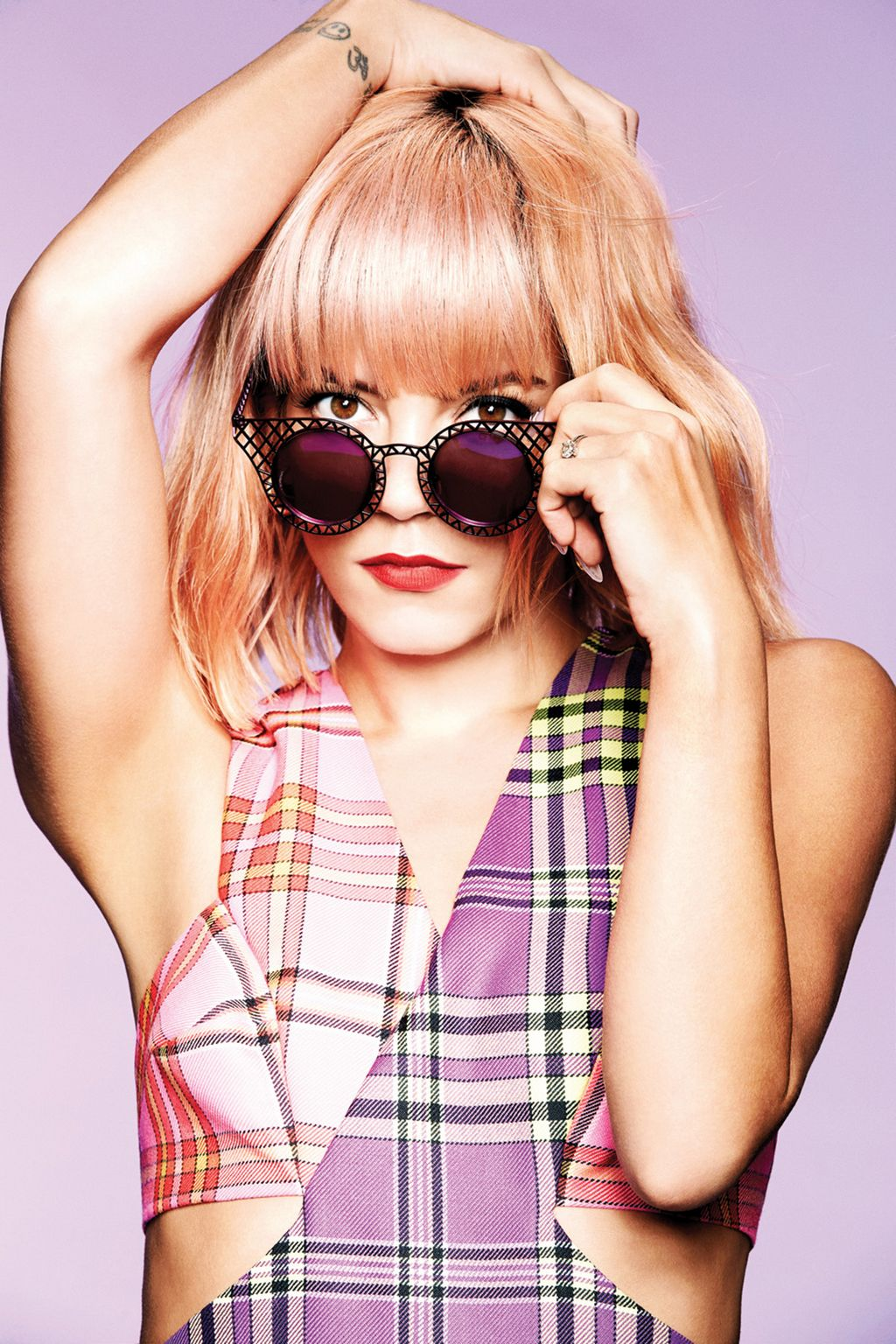 Lily Allen For House Of Holland eyewear campaign-1