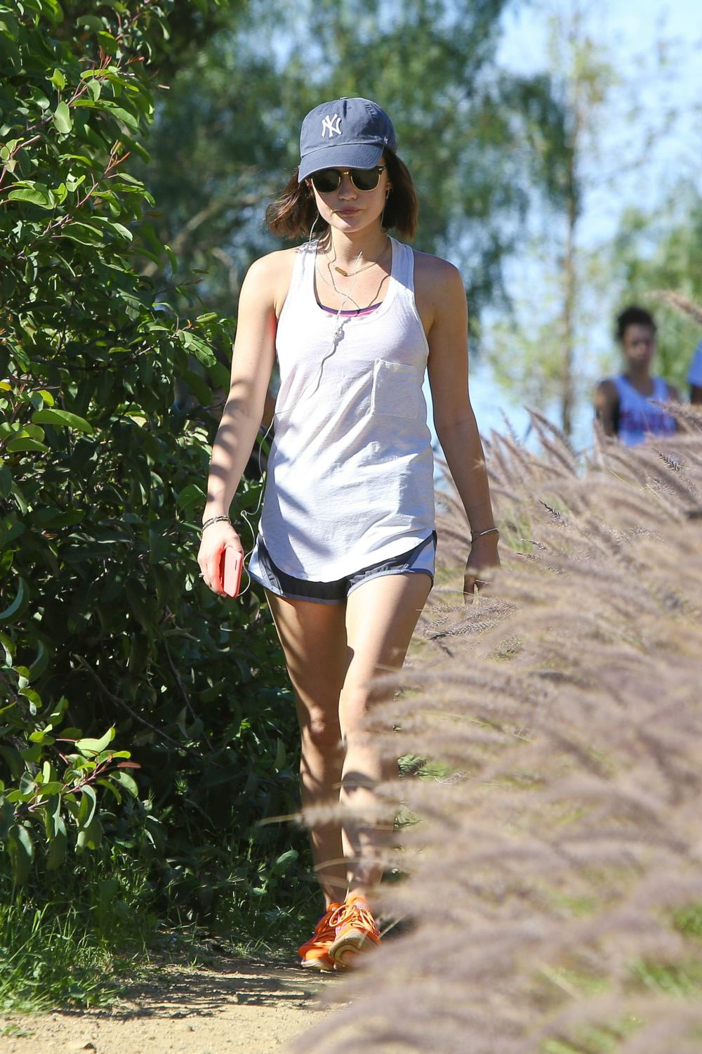 Lucy Hale Goes Hiking at Runyon Canyon Park-1