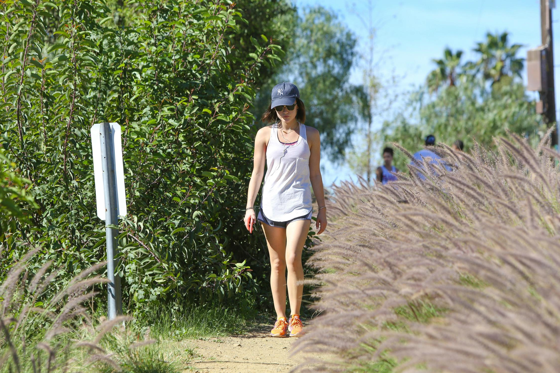 Lucy Hale Goes Hiking at Runyon Canyon Park-2