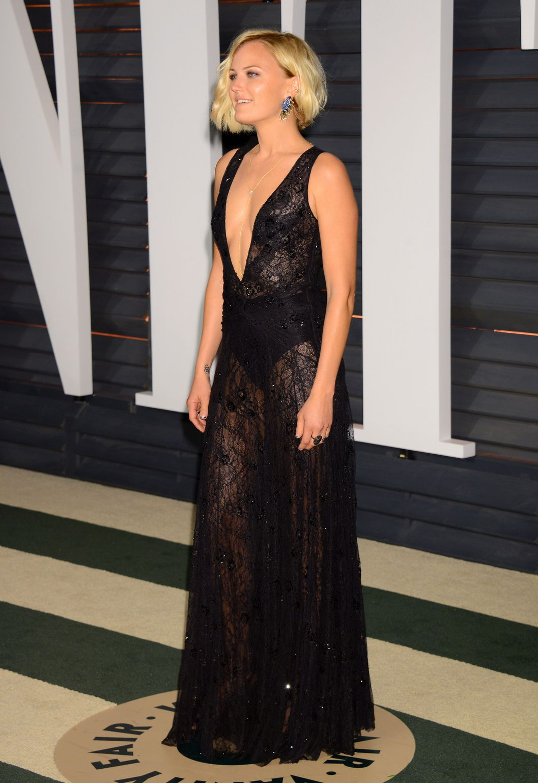 Malin Akerman At Vanity Fair Oscar Party-1