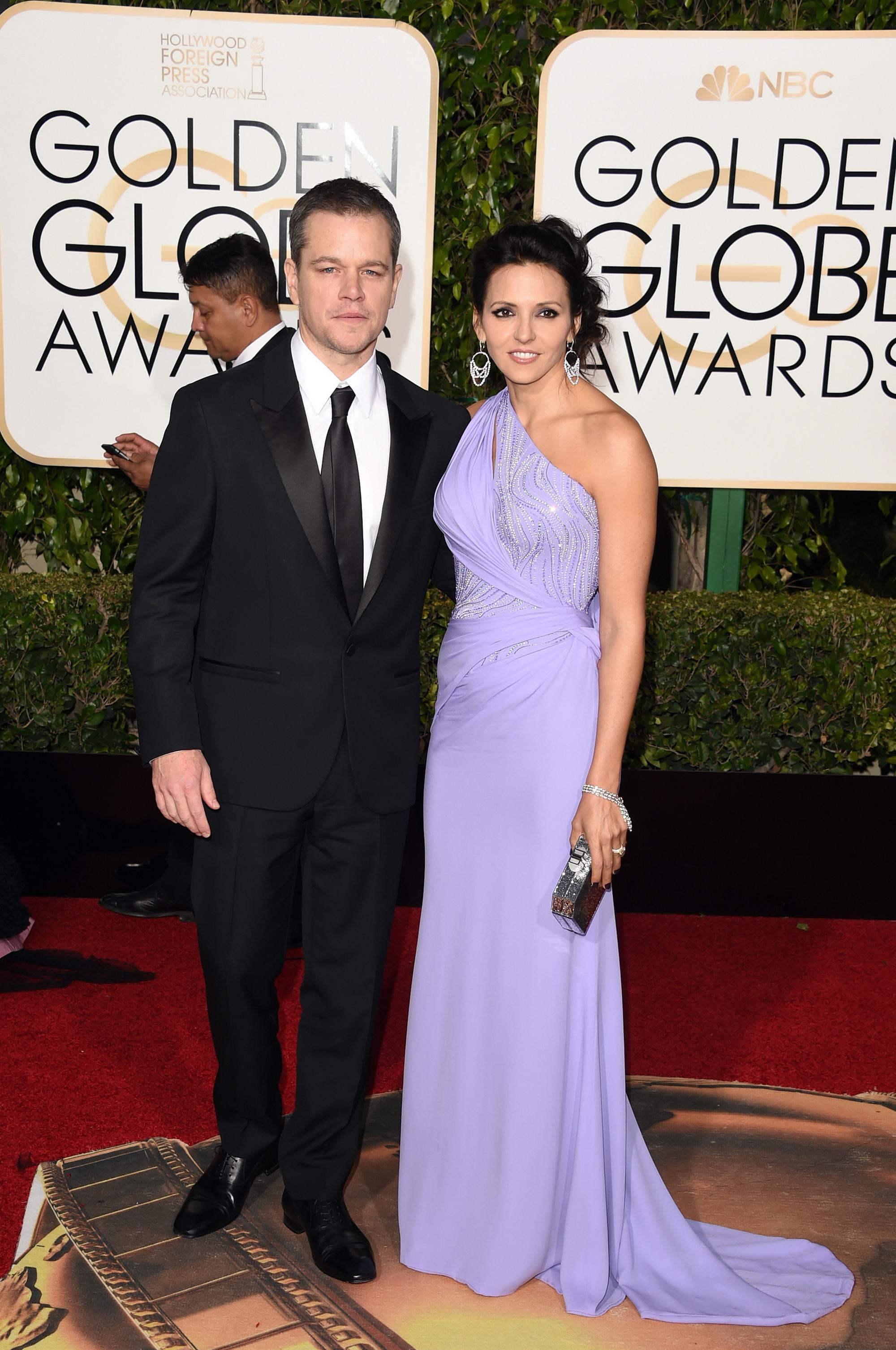 Matt Damon at Annual Golden Globe Awards-1