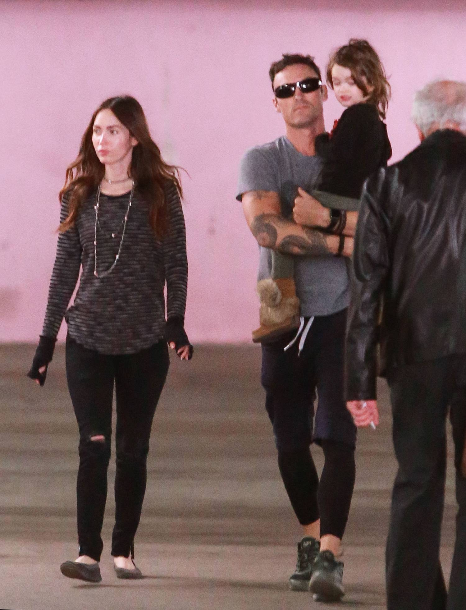 Megan Fox and Brian Austin Green Parental Duty in LA Jan