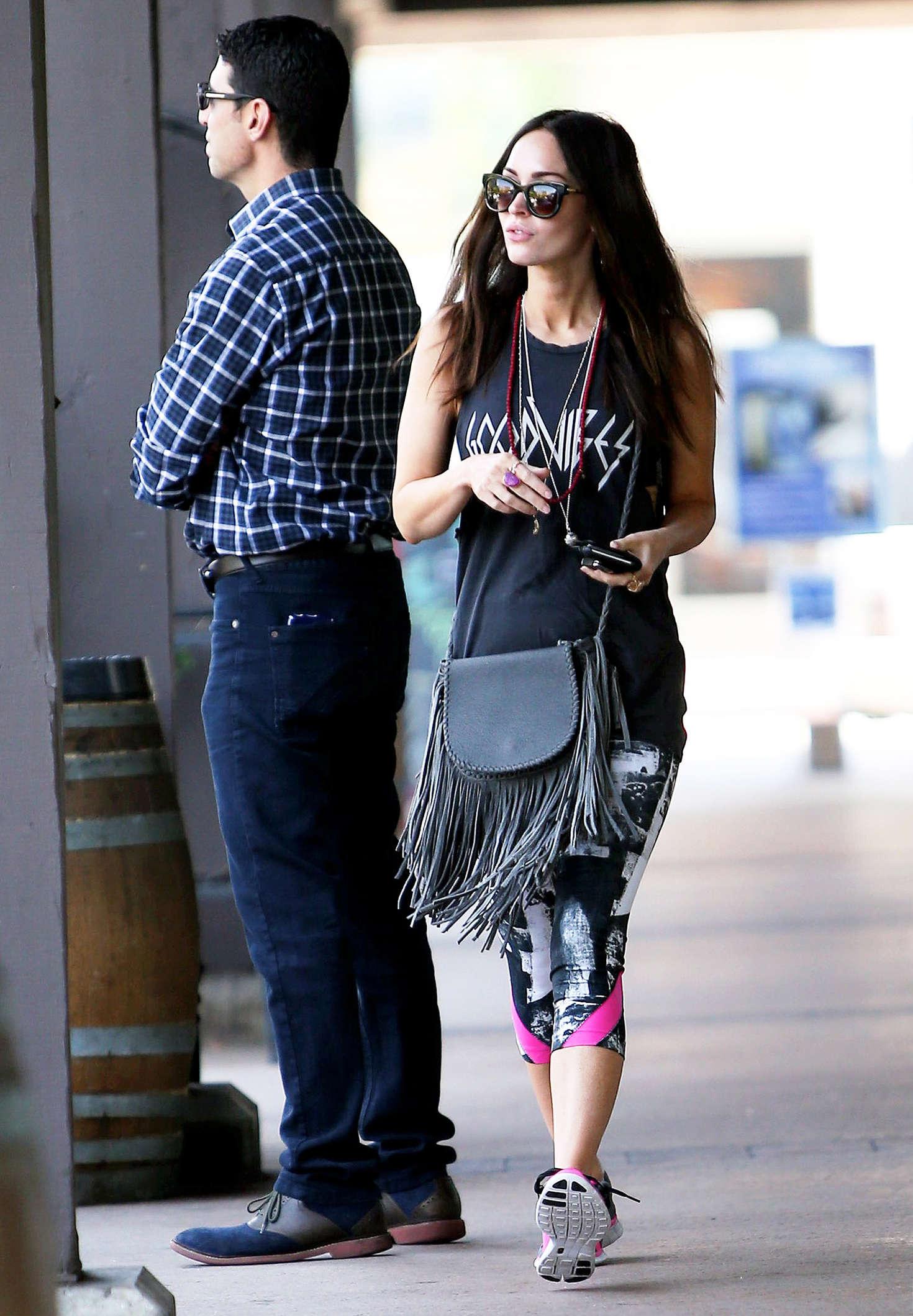 Megan Fox at Sugarfish in Los Angeles on nd-1