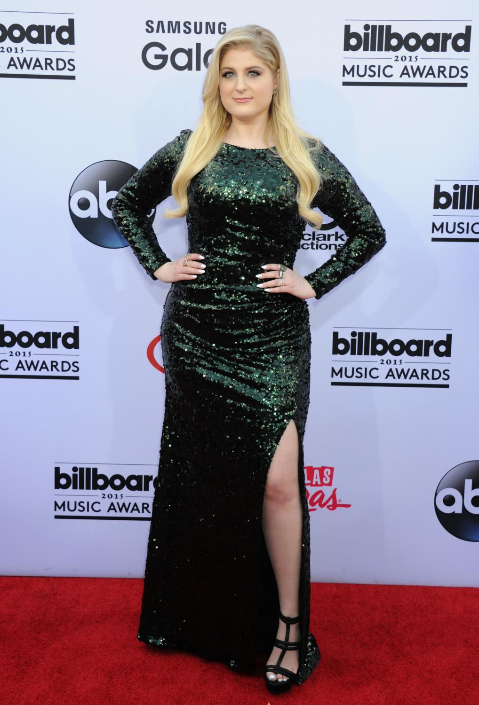 Meghan Trainor arrives ate Billboard Music Awards - Celeb Donut