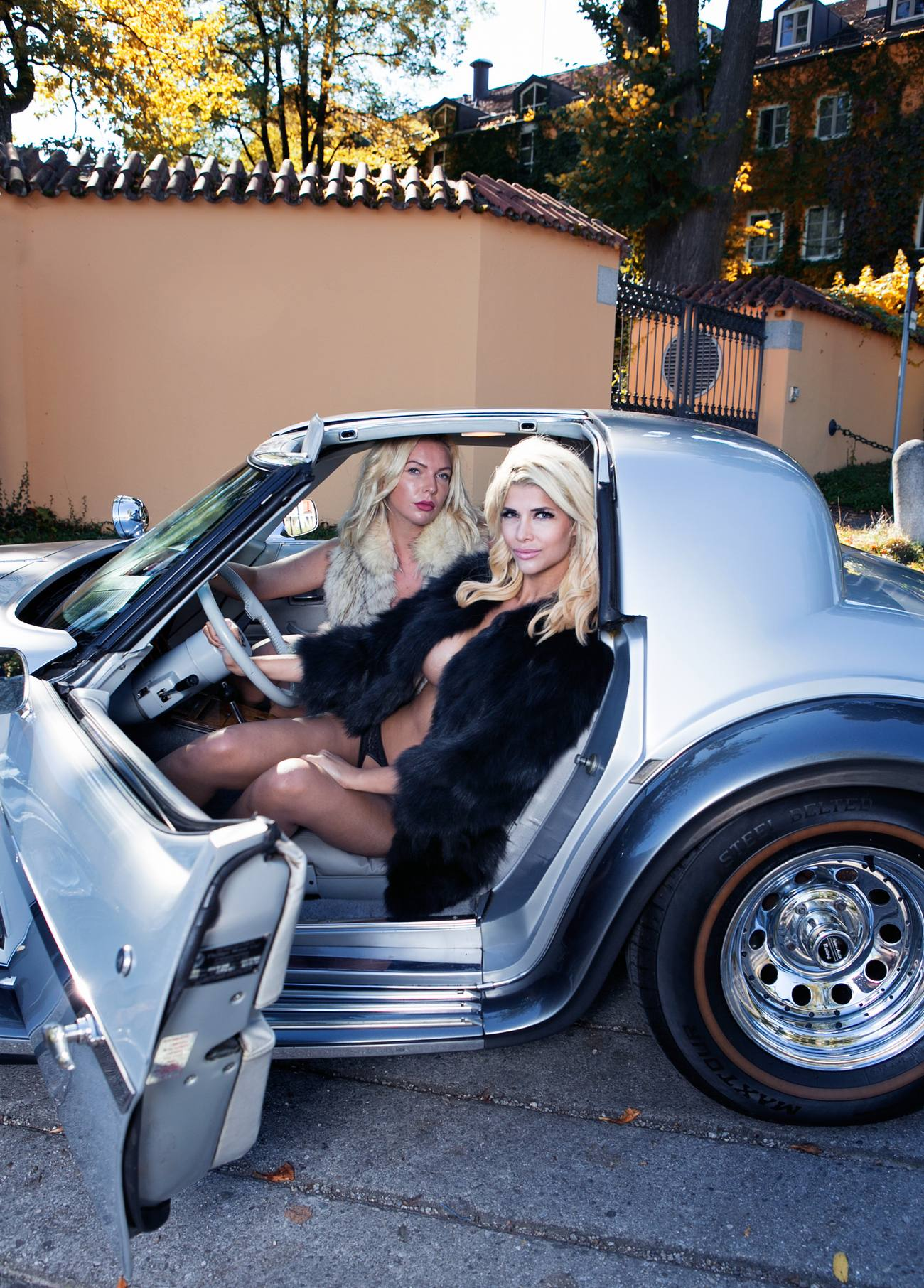 Micaela Schaefer GQ Magazine – Celeb Donut Scarlett Johansson
